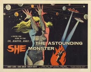 The Astounding She-Monster -  Style