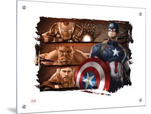 The Avengers: Age of Ultron - Captain America, Iron Man, Hulk, & Thor