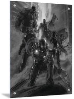 The Avengers: Age of Ultron - Concept Art Sketch