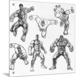 The Avengers: Age of Ultron - Hulk Character Sketches