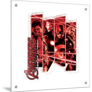 The Avengers: Age of Ultron - Hulk, Iron Man, Captain America, Thor