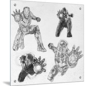 The Avengers: Age of Ultron - Iron Man Character Sketches