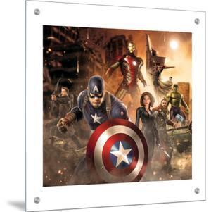The Avengers: Age of Ultron - Thor, Hulk, Captain America, Hawkeye, Vision, Black Widow, Iron Man