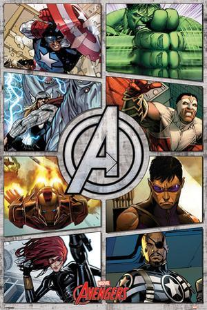 The Avengers (Comic Panels)