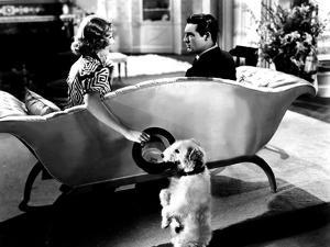 The Awful Truth, Irene Dunne, Asta, Cary Grant, 1937