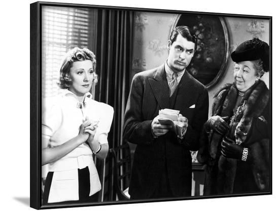 The Awful Truth, Irene Dunne, Cary Grant, Esther Dale, 1937--Framed Photo
