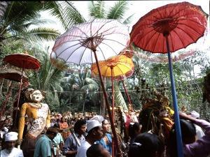 The Balinese Version of Hinduism Has an Elaborate Calender of Festivals Associated with Each…