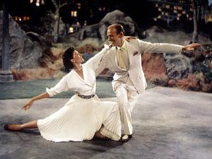"The Band Wagon, Cyd Charisse, Fred Astaire, 1953, ""Dancing In The Dark"" Production Number"