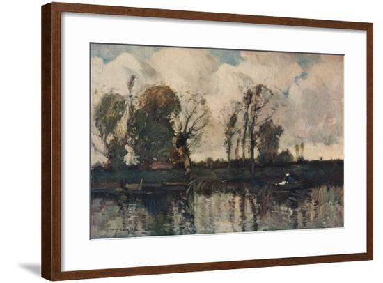 'The Banks of the Loir', c1900-William Alfred Gibson-Framed Giclee Print