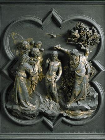 The Baptism of Christ, by Lorenzo Ghiberti