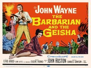 The Barbarian and the Geisha, 1958