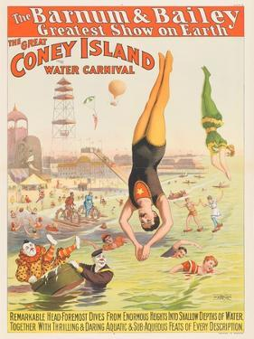 The Barnum and Bailey Greatest Show on Earth - the Great Coney Island Water Carnival, 1898