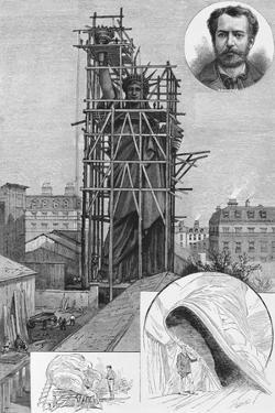 The Bartholdi Statue of Liberty. Drawn by John Durkin. See Page 47.