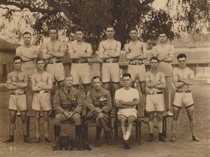 The Battalion Boxing Team of the First Battalion, the Queen's Own Royal West Kent Regiment