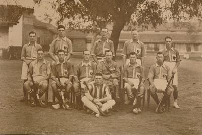 The Battalion Hockey Team of the First Battalion, the Queen's Own Royal West Kent Regiment