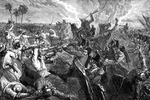 The Battle of Ferozeshah, India, 1845