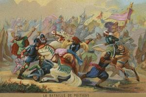 The Battle of Poitiers, France, 732