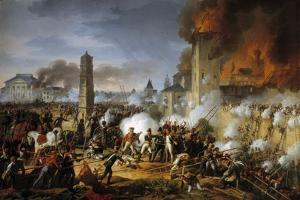 The Battle of Ratisbon, by Charles Thevenin