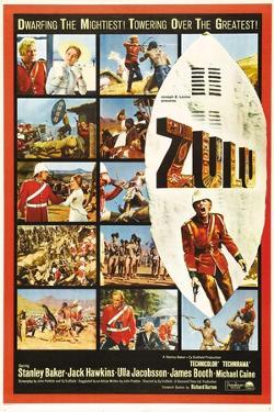 "The Battle of Rorke's Drift, 1964, ""Zulu"" Directed by Cy Endfield"