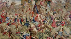 The Battle of Zama, by Giulio Romano