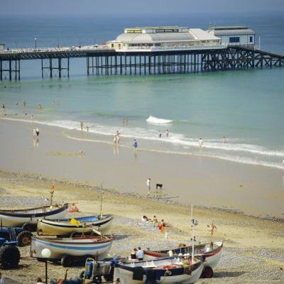 The Beach and Pier, Cromer, Norfolk, England, UK by G Richardson