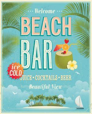The Beach Bar is Open
