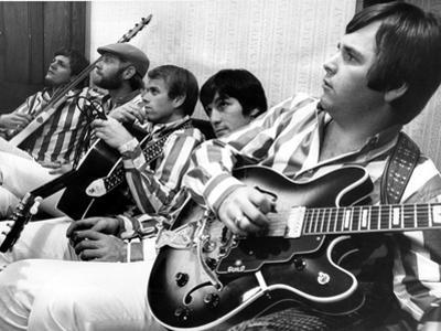 The Beach Boys (Dennis Wilson, Dave Marks, Carl Wilson, Brian Wilson and Mike Love) July 11, 1966