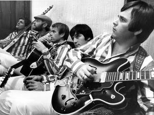 The Beach Boys Dennis Wilson Dave Marks Carl Brian And Mike Love July 11 1966