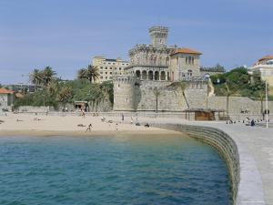 The Beach, Estoril,Costa De Lisboa, Portugal, Europe by G Richardson