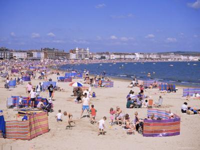The Beach, Weymouth, Dorset, England, United Kingdom