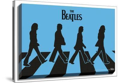 The Beatles - Abbey Road Silhouettes