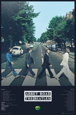 The Beatles Abbey Road Tracks