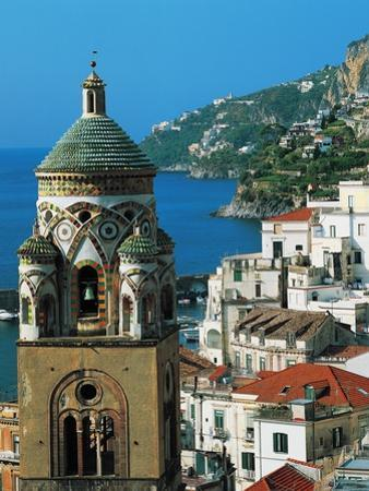 The Bell Tower of Amalfi Cathedral, 11th-17th Century, Campania, Italy