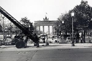 The Berlin Wall, under Construction in August 1961