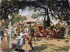 The Best Friend Locomotive from Charleston, United States, 19th Century