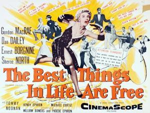 """""""The Best Things in Life are Free"""" 1956, Directed by Michael Curtiz"""