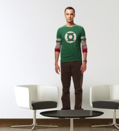 The Big Bang Theory - Sheldon Wall Jammer Wall Decal