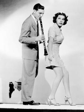 The Big Broadcast of 1937, from Left, Benny Goodman, Martha Raye, 1936