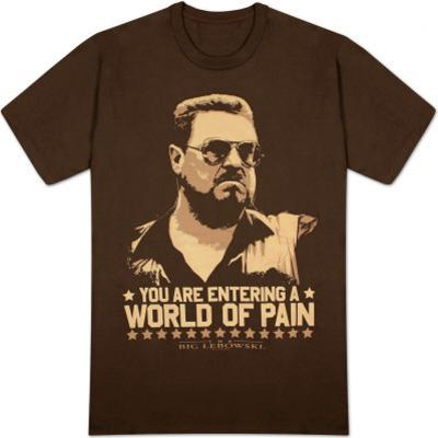 The Big Lebowski - World of Pain (Slim Fit)