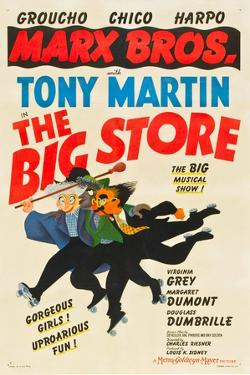 The Big Store, Harpo Marx, Chico Marx, Groucho Marx, 1941