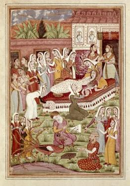 The Birth of Rostam by Caesarean