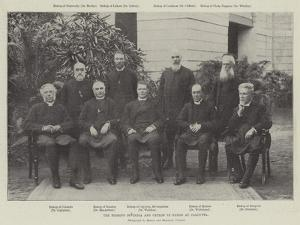 The Bishops of India and Ceylon in Synod at Calcutta