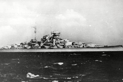 The Bismark - German Battleship
