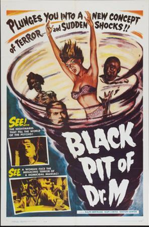 The Black Pit of Dr. M, (aka 'Misterios De Ultratumba'; 'Mysteries From Beyond the Grave'), 1959