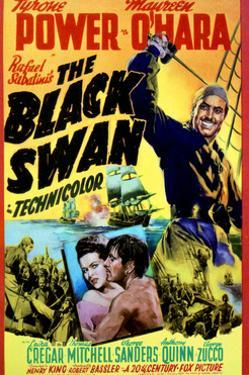 The Black Swan - Movie Poster Reproduction