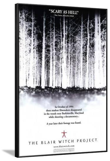 The Blair Witch Project--Framed Poster