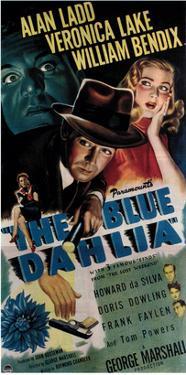 The Blue Dahlia, Alan Ladd, Veronica Lake, 1946