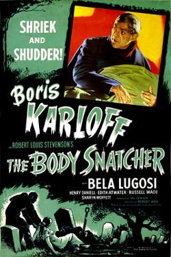 The Body Snatcher, Boris Karloff, 1945