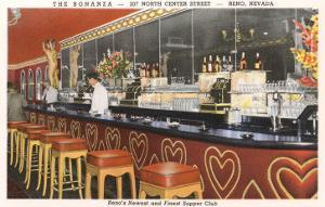 The Bonanza Cocktail Lounge, Reno, Nevada