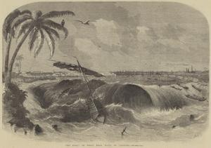 The Bore, or Great Tidal Wave, at Calcutta